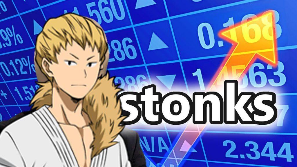 Ojiro thinking about stonks