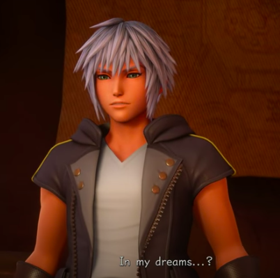 "Riku ""in my dreams"" Kingdom hearts 3 remind"