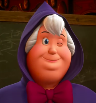 Fairy Godmother winking Kingdom Hearts 3