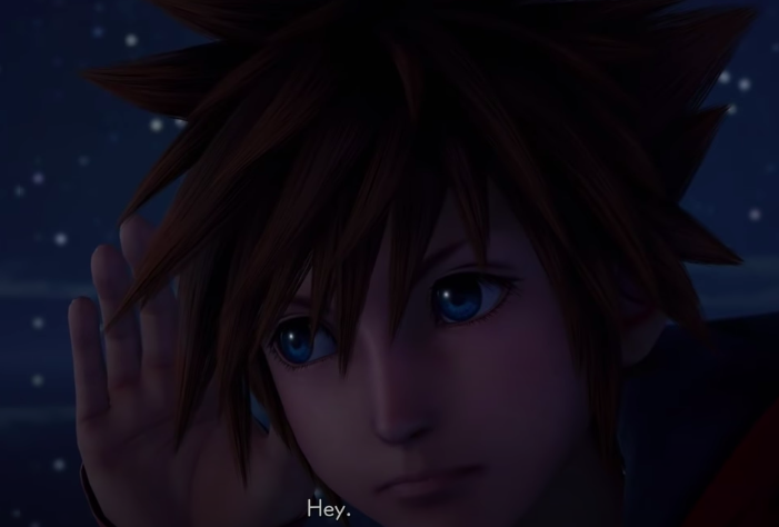 Sora in the Final World KH3 Remin