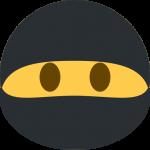 burglar mask emoji