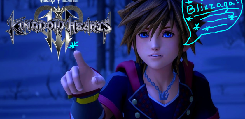 Kingdom hearts 3 trailer Blizzaga